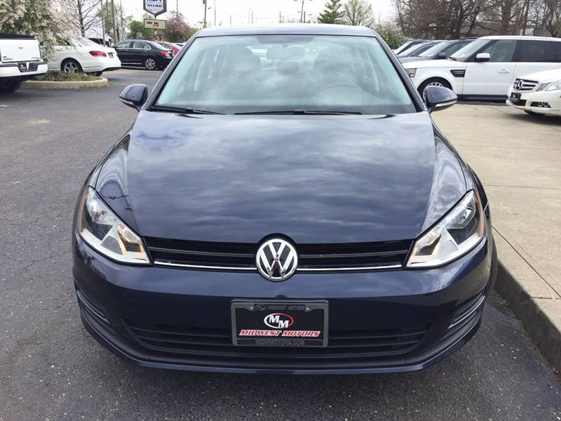 2015 Volkswagen Golf for sale at Midwest Motors in Indianapolis IN