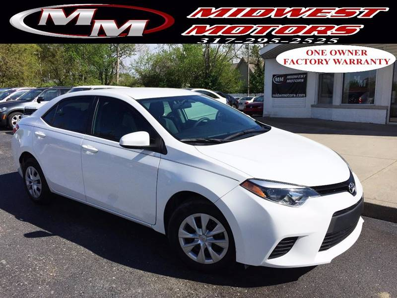 2014 Toyota Corolla for sale at Midwest Motors in Indianapolis IN