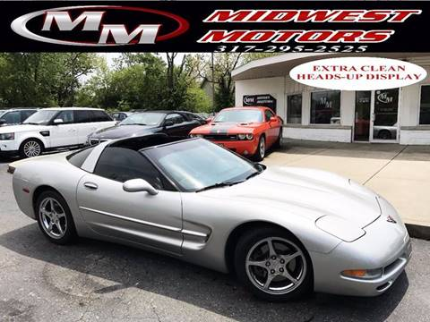 2004 Chevrolet Corvette for sale at Midwest Motors in Indianapolis IN