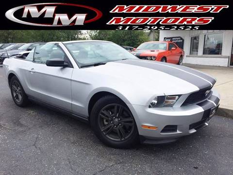 2012 Ford Mustang for sale at Midwest Motors in Indianapolis IN