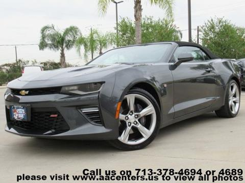 2017 Chevrolet Camaro For Sale In Houston Tx