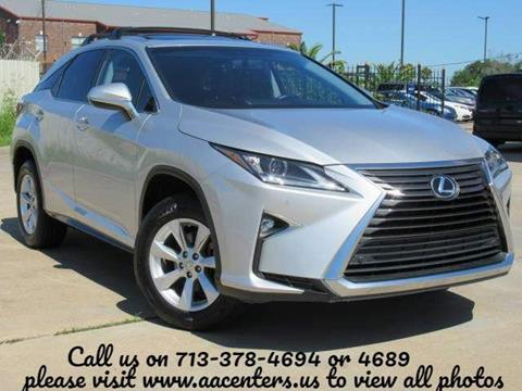 2016 Lexus RX 350 for sale in Houston, TX
