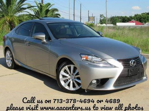 2016 Lexus IS 200t for sale in Houston, TX
