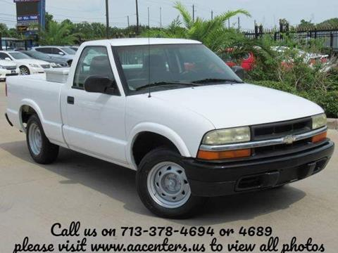 2003 Chevrolet S-10 for sale in Houston, TX