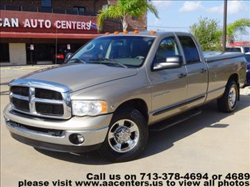 2005 Dodge Ram Pickup 3500 for sale in Houston, TX