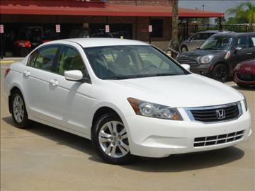 2009 Honda Accord for sale in Houston, TX