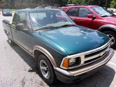 1996 Chevrolet S-10 for sale in Carrollton, GA