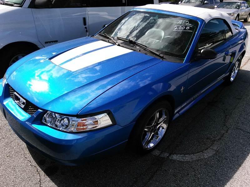 2000 Ford Mustang 2dr Convertible In Carrollton GA ...