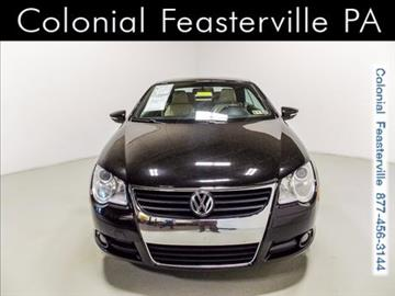 2010 Volkswagen Eos for sale in Feasterville Trevose, PA