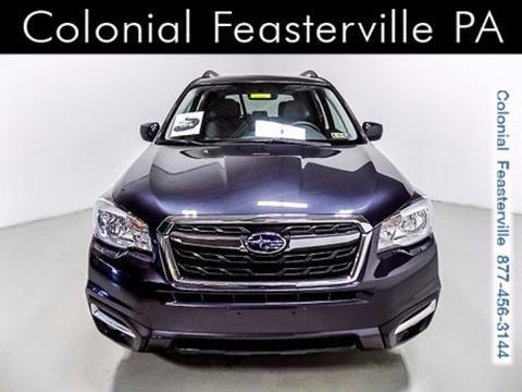2018 Subaru Forester for sale in Feasterville Trevose, PA