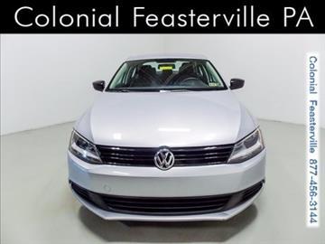 2013 Volkswagen Jetta for sale in Feasterville Trevose, PA