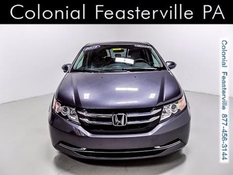 2015 Honda Odyssey for sale in Feasterville Trevose, PA