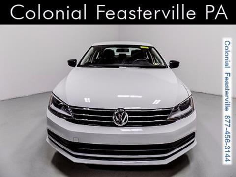 2015 Volkswagen Jetta for sale in Feasterville Trevose, PA