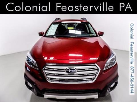 2015 Subaru Outback for sale in Feasterville Trevose, PA