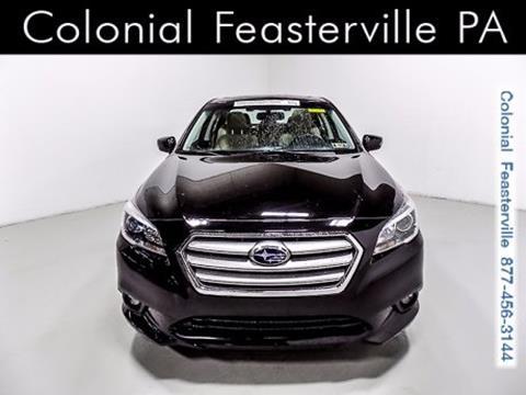 2015 Subaru Legacy for sale in Feasterville Trevose, PA