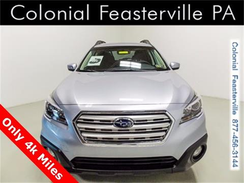 2017 Subaru Outback for sale in Feasterville Trevose, PA