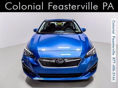 2017 Subaru Impreza for sale in Feasterville Trevose, PA