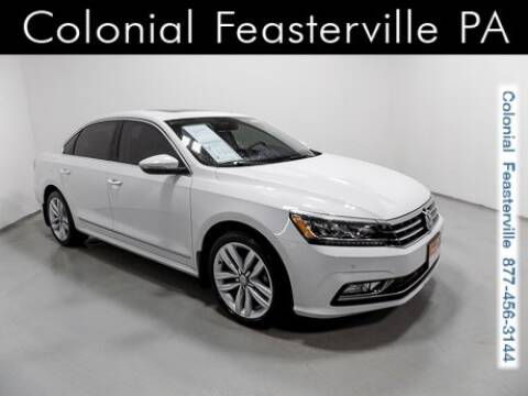 2017 Volkswagen Passat for sale in Feasterville Trevose, PA