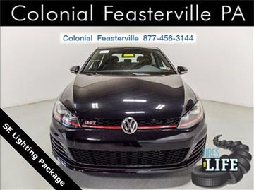 2017 Volkswagen Golf GTI for sale in Feasterville Trevose, PA