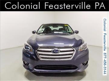 2017 Subaru Legacy for sale in Feasterville Trevose, PA