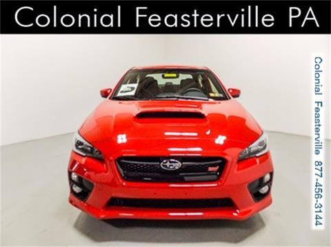 2017 Subaru WRX for sale in Feasterville Trevose, PA