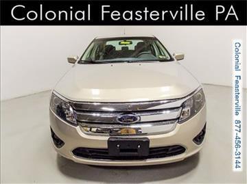 2010 Ford Fusion for sale in Feasterville Trevose, PA