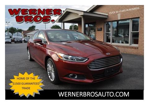2014 Ford Fusion for sale in Dallastown PA