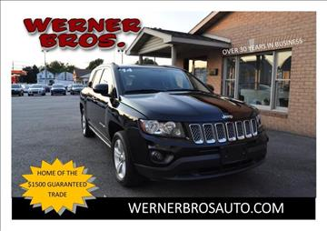 2014 Jeep Compass for sale in Dallastown, PA