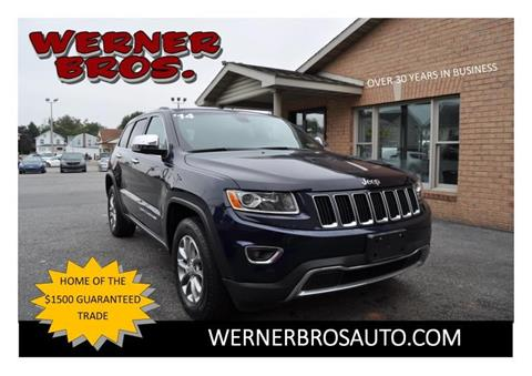 2014 Jeep Grand Cherokee for sale in Dallastown, PA