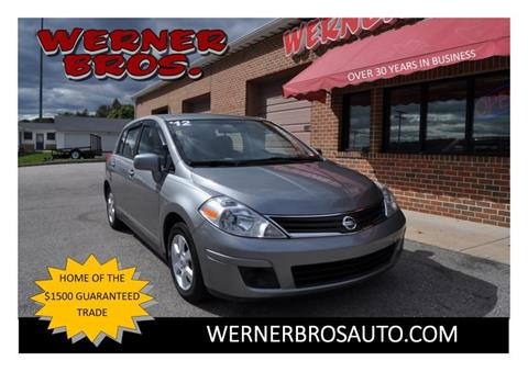 2012 Nissan Versa for sale in Dallastown, PA