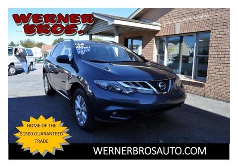 2014 Nissan Murano for sale in Dallastown PA