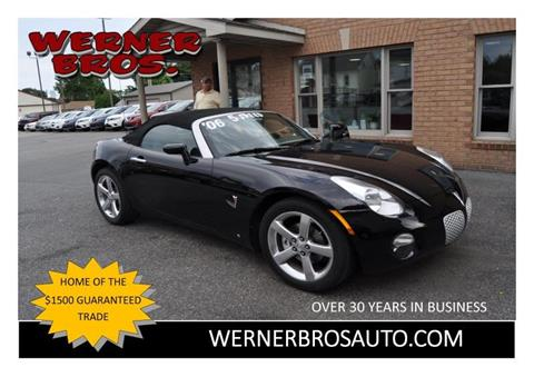 2006 Pontiac Solstice for sale in Dallastown, PA