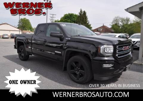 2017 GMC Sierra 1500 for sale at Werner Brothers Auto Sales in Dallastown PA