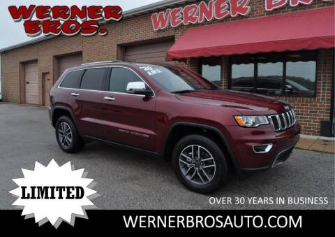 2020 Jeep Grand Cherokee for sale at Werner Brothers Auto Sales in Dallastown PA