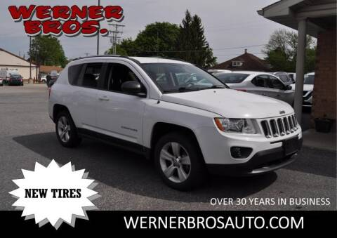 2012 Jeep Compass Latitude for sale at Werner Brothers Auto Sales in Dallastown PA