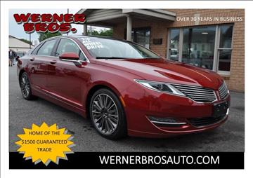 2013 Lincoln MKZ for sale in Dallastown, PA