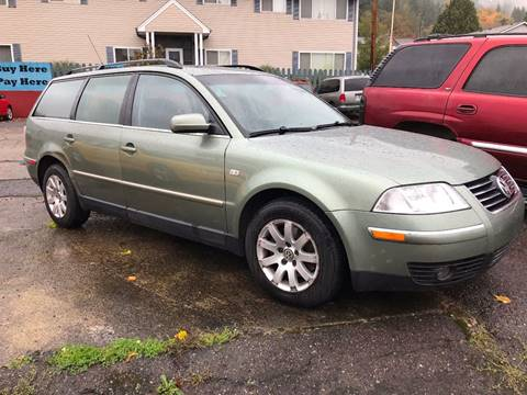 2003 Volkswagen Passat for sale in Chehalis, WA
