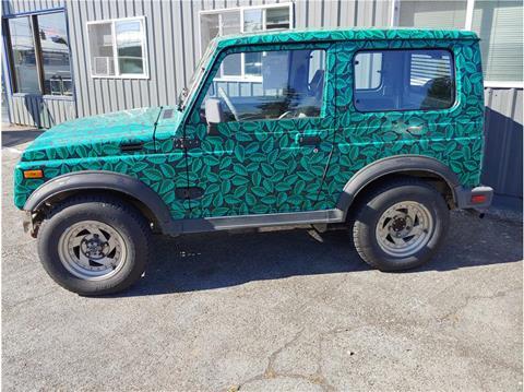 1987 Suzuki Samurai for sale in Chehalis, WA