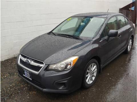 2012 Subaru Impreza for sale at Chehalis Auto Center in Chehalis WA