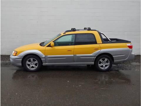 2003 Subaru Baja for sale at Chehalis Auto Center in Chehalis WA