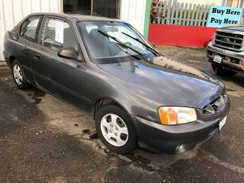 2002 Hyundai Accent for sale in Chehalis, WA