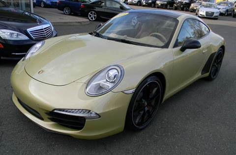 2013 Porsche 911 for sale at Platinum Motorcars in Warrenton VA