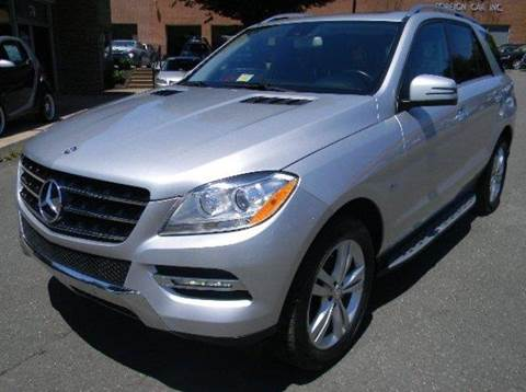 2012 Mercedes-Benz M-Class for sale at Platinum Motorcars in Warrenton VA