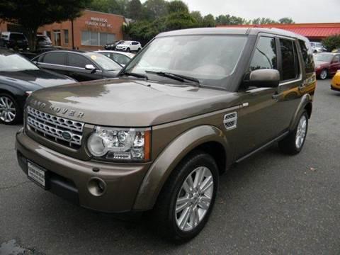 2011 Land Rover LR4 for sale at Platinum Motorcars in Warrenton VA