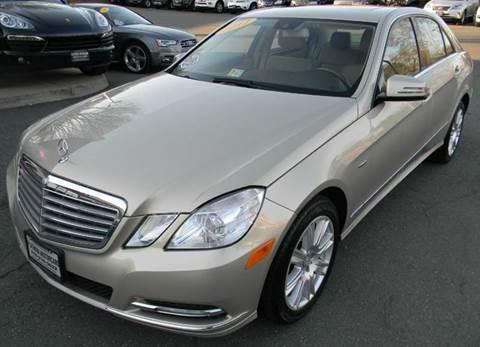2012 Mercedes-Benz E-Class for sale at Platinum Motorcars in Warrenton VA