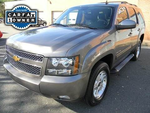 2012 Chevrolet Tahoe for sale at Platinum Motorcars in Warrenton VA
