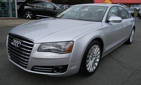 2014 Audi A8 for sale at Platinum Motorcars in Warrenton VA