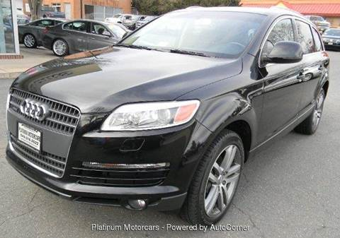 2007 Audi Q7 for sale at Platinum Motorcars in Warrenton VA