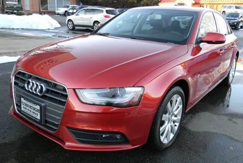 2013 Audi A4 for sale at Platinum Motorcars in Warrenton VA