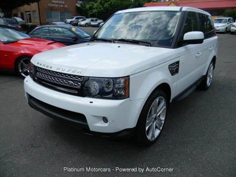 2012 Land Rover Range Rover Sport for sale at Platinum Motorcars in Warrenton VA